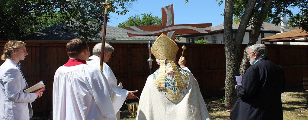 Blessing of Backyard Cross 2017 Slider