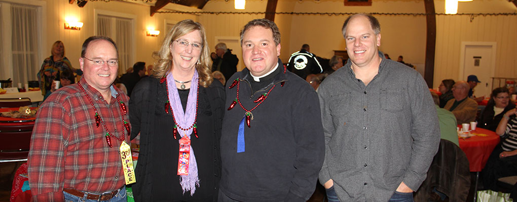 Chili Cook Off Party at St. John's Church